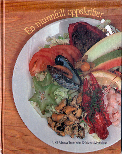 Front Cover - En Munnfull Oppskrifter (A mouthful of Recipes)