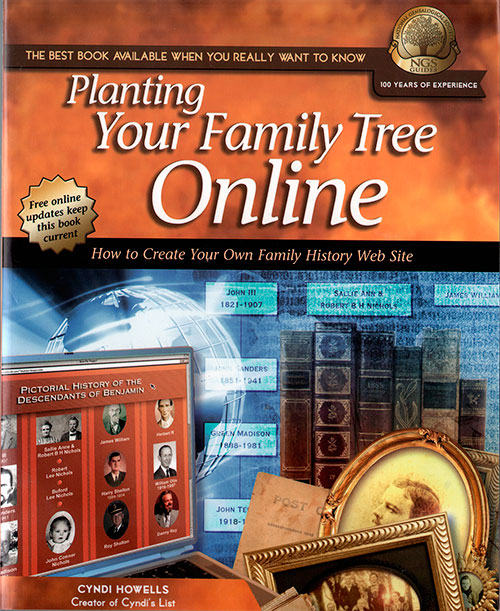Front Cover - Planting Your Family Tree Online: How To Create Your Own Family History Web Site