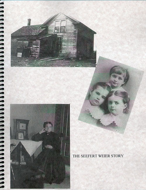 Front Cover - The Seefert Weier Story