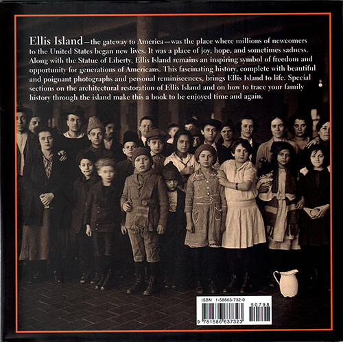 Back Cover - Ellis Island: Gateway to the American Dream