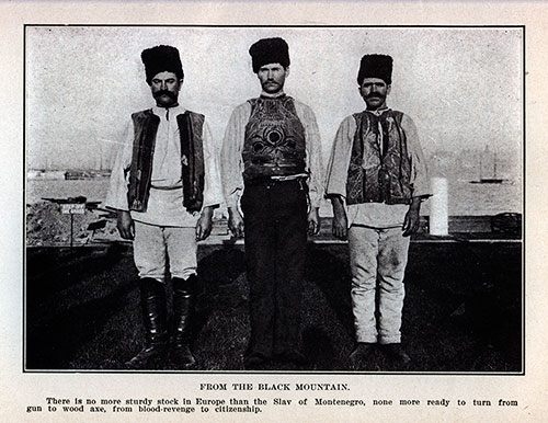 Immigrant Slavs From Montenegro