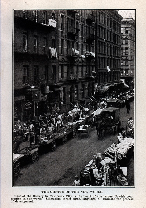 The Jewish Ghetto Of East Of Bowery In NewYork