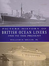 Front Cover, Picture History of British Ocean Liners: 1900 to the Present