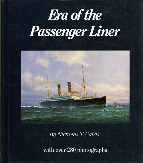 Front Cover - Era of the Passenger Liner