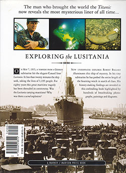 Back Cover, Exploring the Lusitania