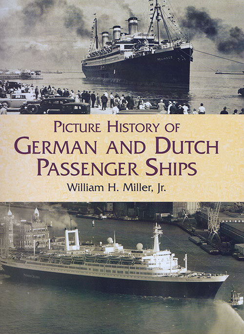 Front Cover, Picture History of German and Dutch Passenger Ships (2002)