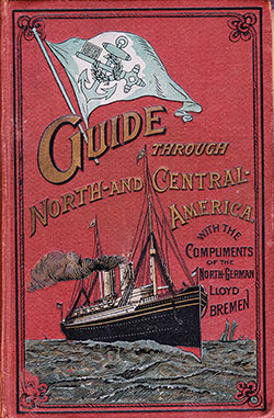 Front Cover, The North German Lloyd S. S. Co. of Bremen. (1898)