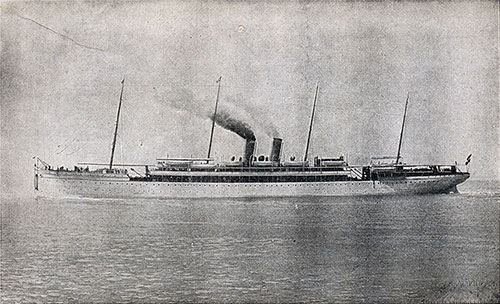 The North German Lloyd Express Steamer S.S. Kaiser Wilhelm II