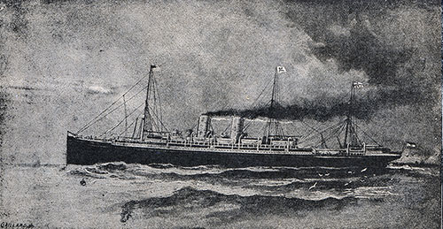 The North German Lloyd Express Steamer - S.S. Havel