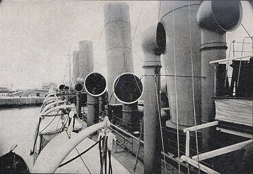 Bridge Deck of the S.S. Kaiser Wilhelm der Grosse