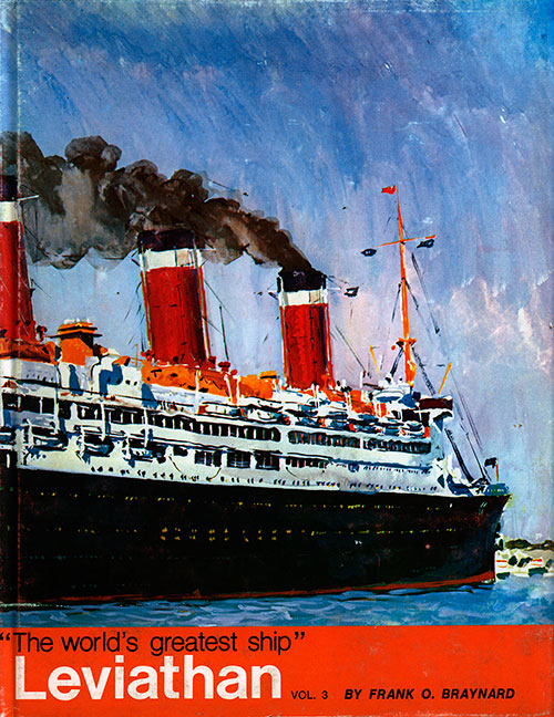 "Front Cover, Leviathan: ""The World's Greatest Ship"" Volume 3"