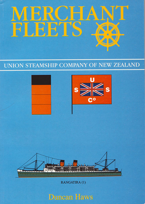 Front Cover, Merchant Fleets 32: Union Steamship Company of New Zealand (1997)