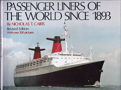 Front Cover, Passenger Liners of the World Since 1893, Revised Edition (1979)