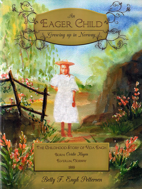 Front Cover - An Eager Child: Growing Up In Norway (2012)