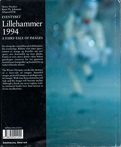 Back Cover - Lillehammer 1994: A Fairy-Tale of Images