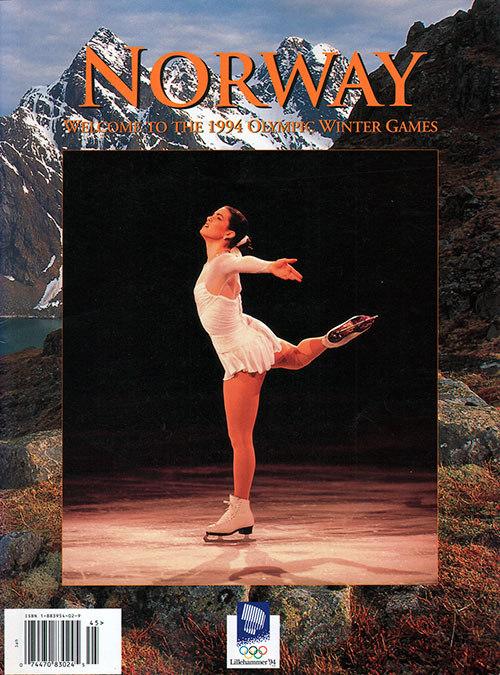 Front Cover - Norway: Welcome To The 1994 Olympic Winter Games