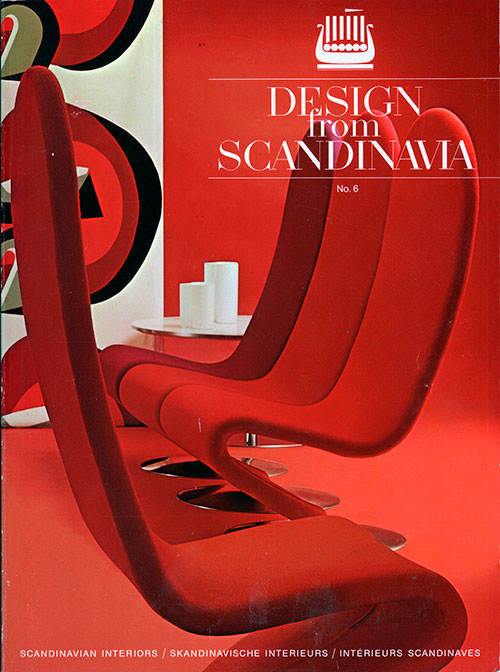 Front Cover - Design from Scandinavia, No. 6