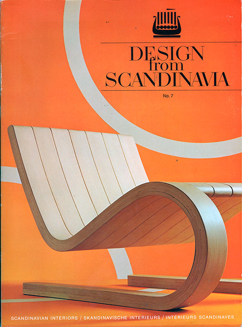 Front Cover - Design from Scandinavia, No. 7