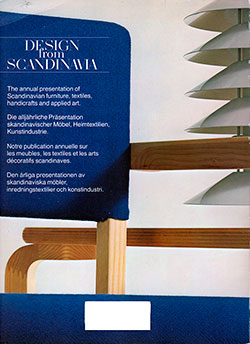 Back Cover - Design from Scandinavia, No. 9