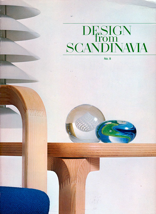 Front Cover - Design from Scandinavia, No. 9