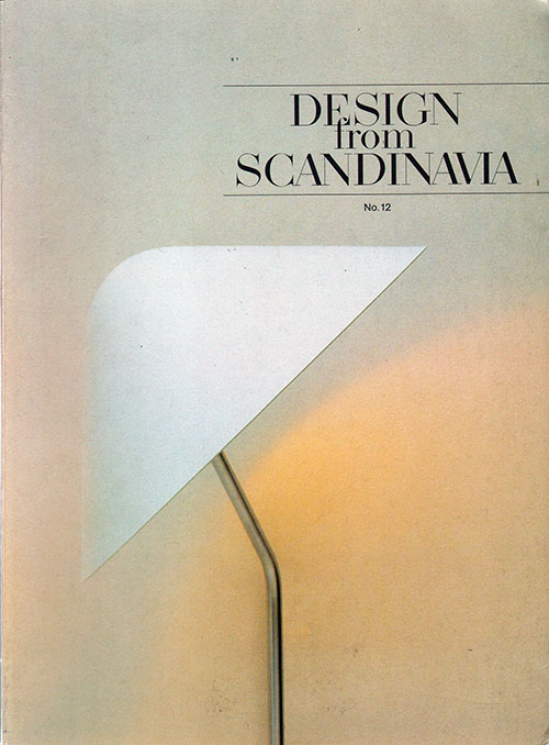 Front Cover - Design from Scandinavia, No. 12
