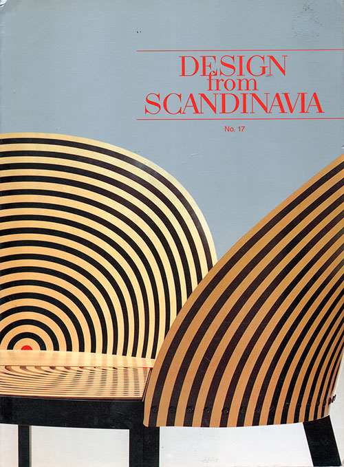 Front Cover - Design from Scandinavia, No. 17
