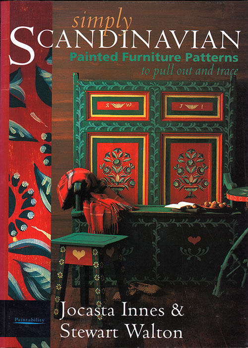 Front Cover - Simply Scandinavian: Painted Furniture Patterns (1991)