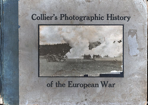Front Cover of Collier's Photographic History of the European War