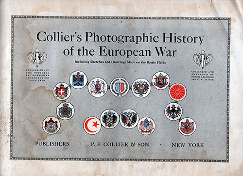 Frontispiece - Collier's Photographic History of the European War