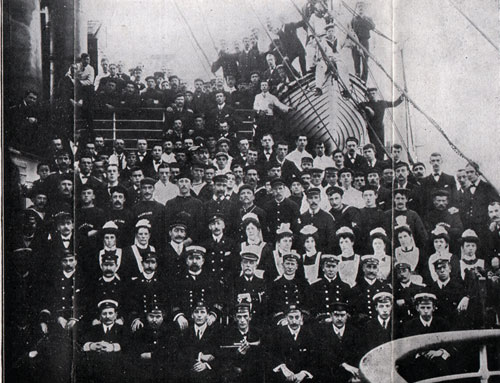 Captain, Officers and Crew of the Twin Screw S.S. Corsican