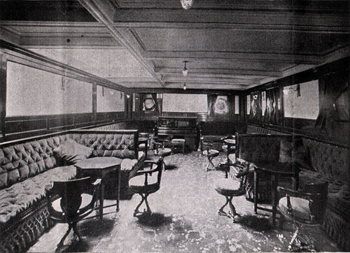 Second Saloon Music Room - S.S. Corsican