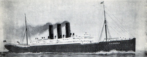 Anchor Line Steamship Columbia