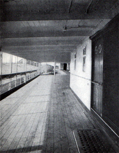 A View of the Promenade Deck