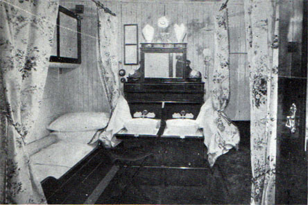 Typical Stateroom on the Anchor Line