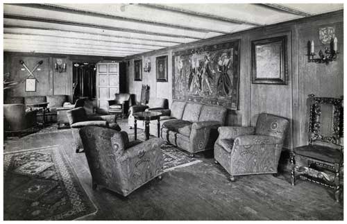 Another View of the Caledonia Corridor Lounge