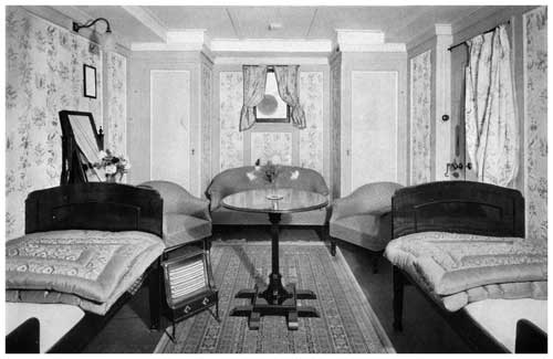 A Typical Transylvania Stateroom for Two