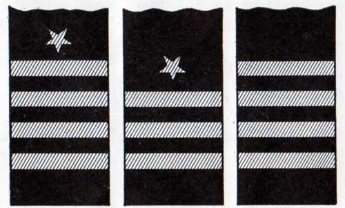 Sleeve Stripes - Commander, Chief Officer and Chief Engineer