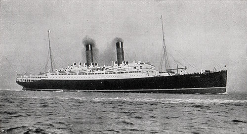 The RMS Franconia and Laconia