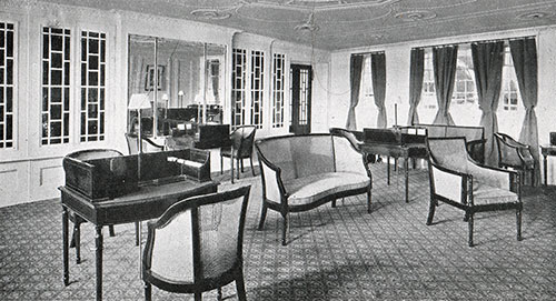 First Class Library and Writing Room