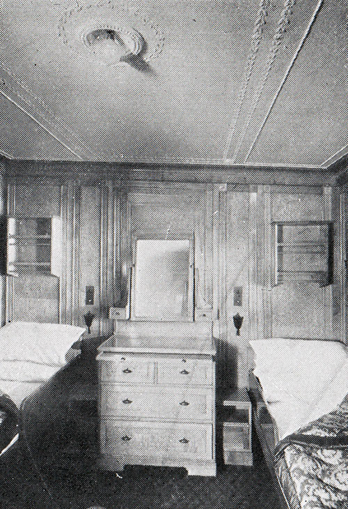 A State Room in First Class