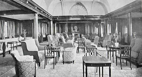 The Lounge in First Cabin