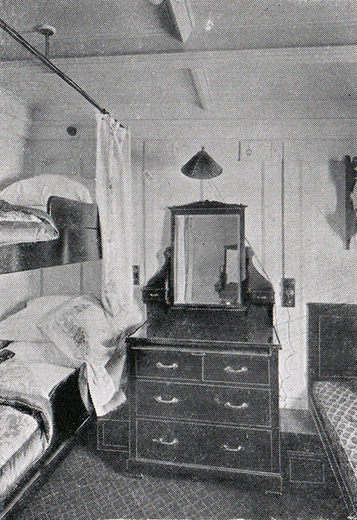 Four-Berth Room - Second Cabin