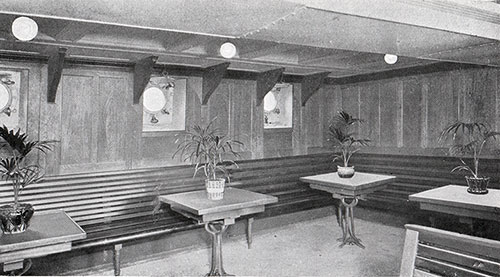Ladies' Room, Third Class / Steerage