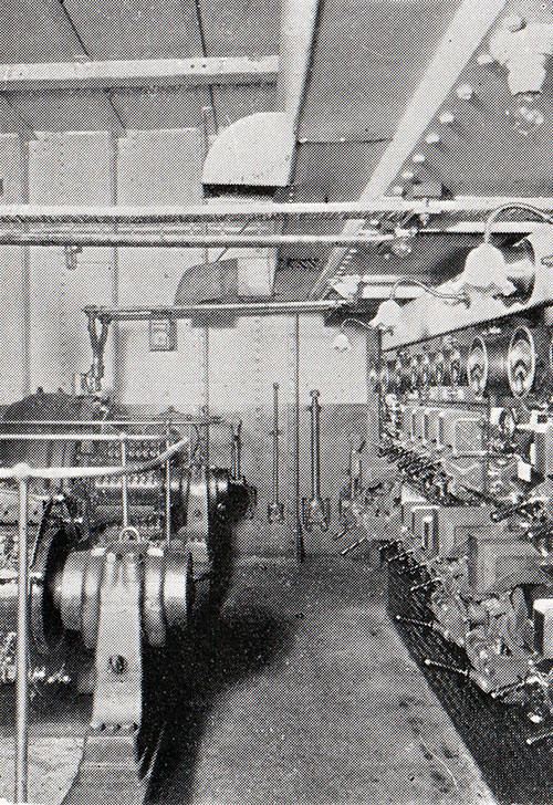 Engine Room - Dynamos and Switchboard