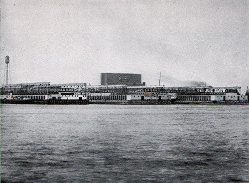 The Cunard Line Pier at Boston