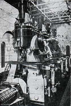 Back View of Engines Showing Thrust
