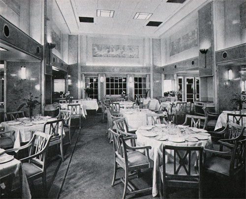 First Class Restaurant Dining on the RMS Britannic