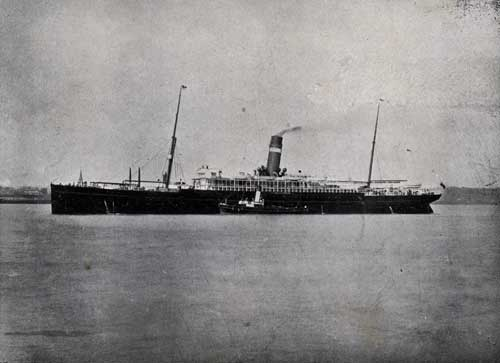 "TWIN-SCREW STEAMER "" CANADA,"" 9000 TONS."