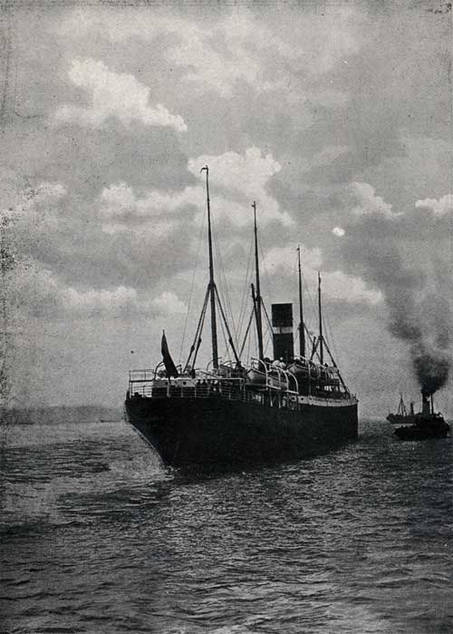 "TWIN-SCREW STEAMER ""DOMINION,"" 6618 TONS."