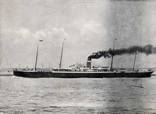 "`S.S. "" VANCOUVER,"" 5231 TONS."